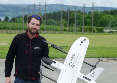 VTOL UAV prototype