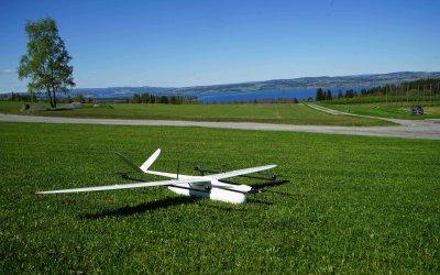 HUGINogMUNIN – a hybrid UAV
