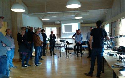 INTERREG prosjekt møte på NIBIO Apelsvoll