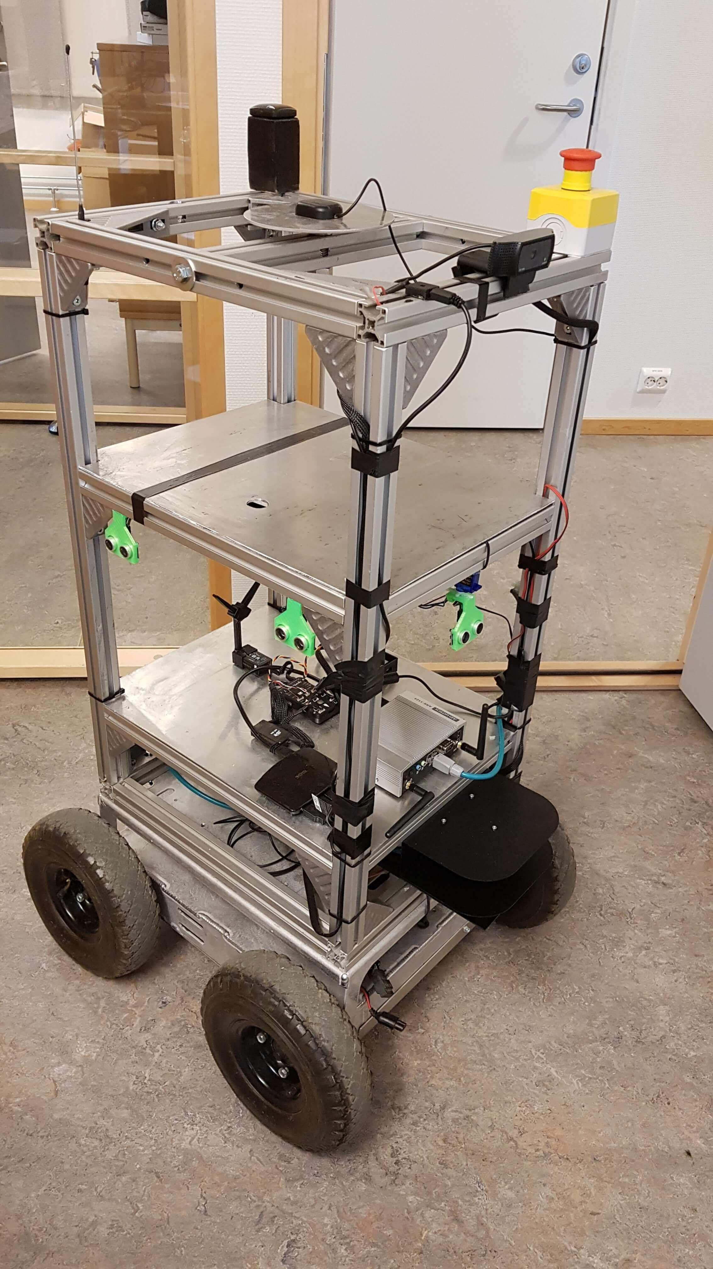 Superdroid UGV test platform