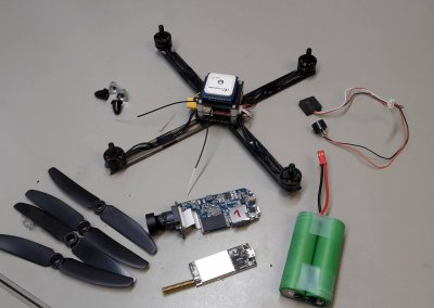 Agricultural ultralight UAV prototype