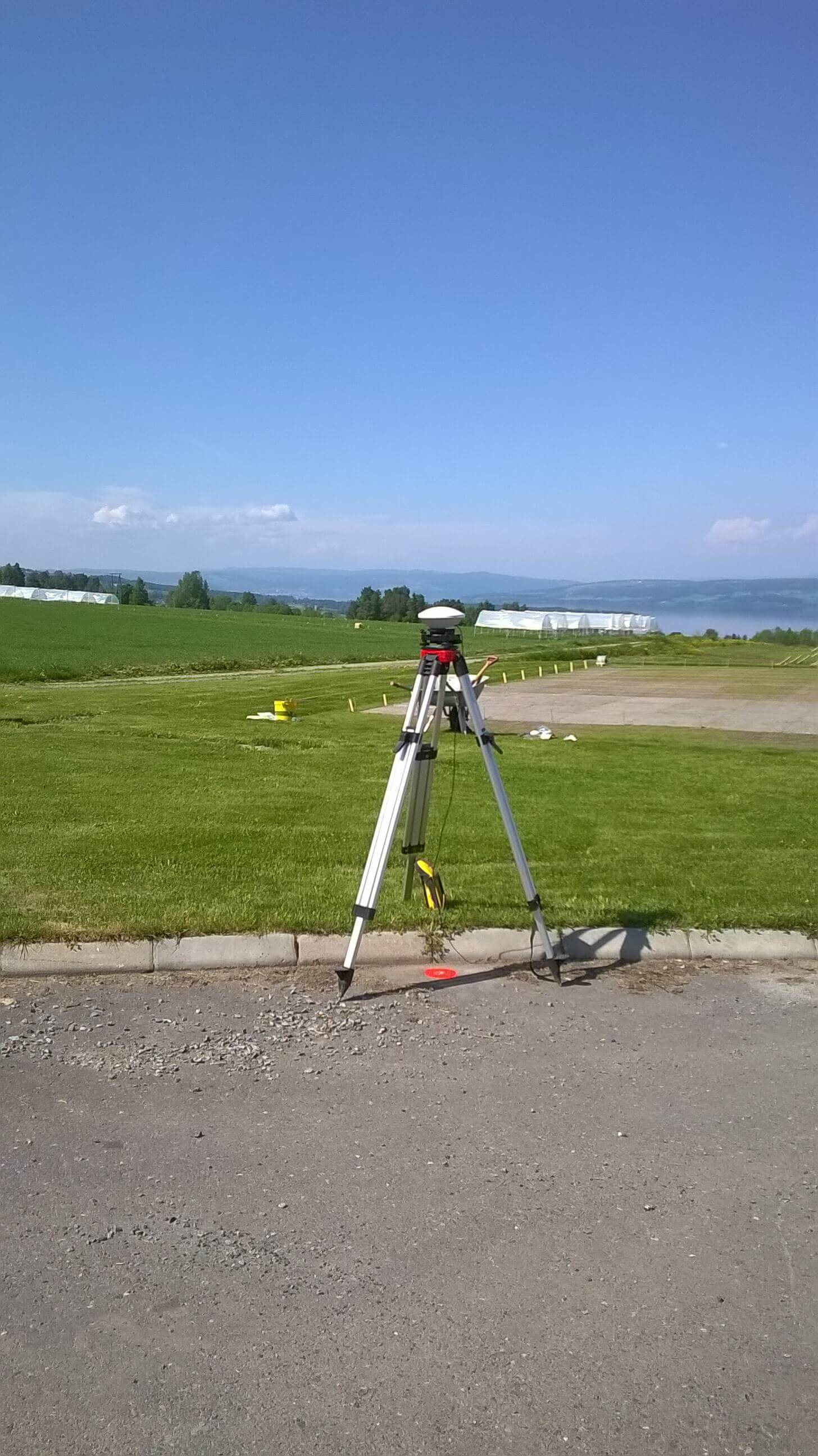 Static GNSS measurement