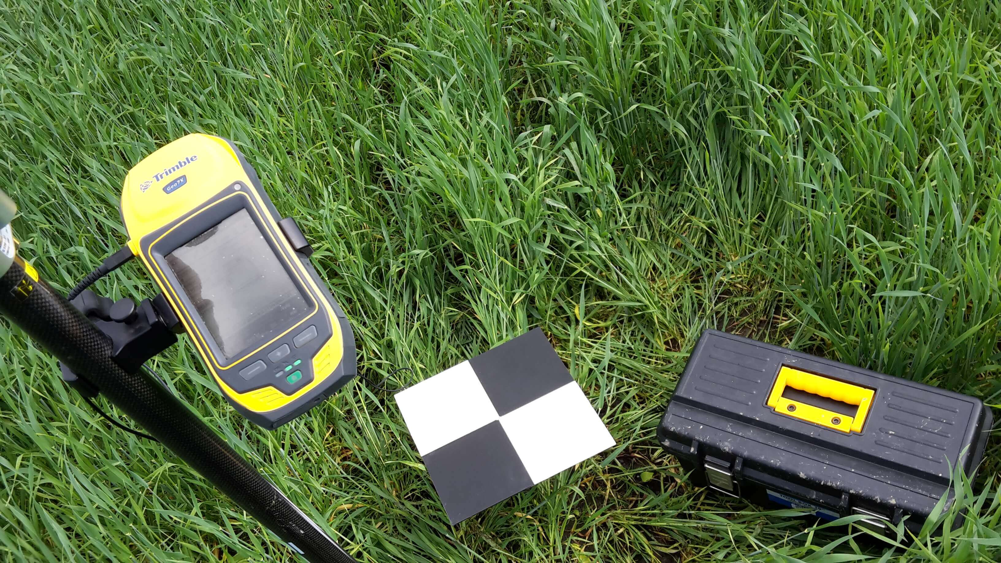 Trimble GNSS for ground control points