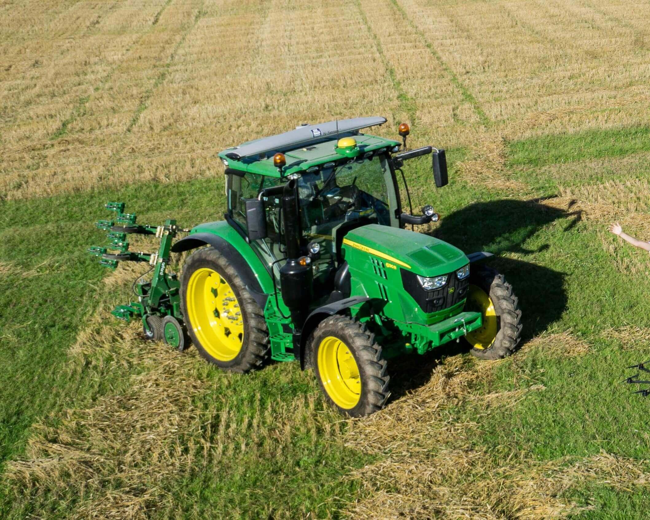 Yara N-Sensor tractor mounted