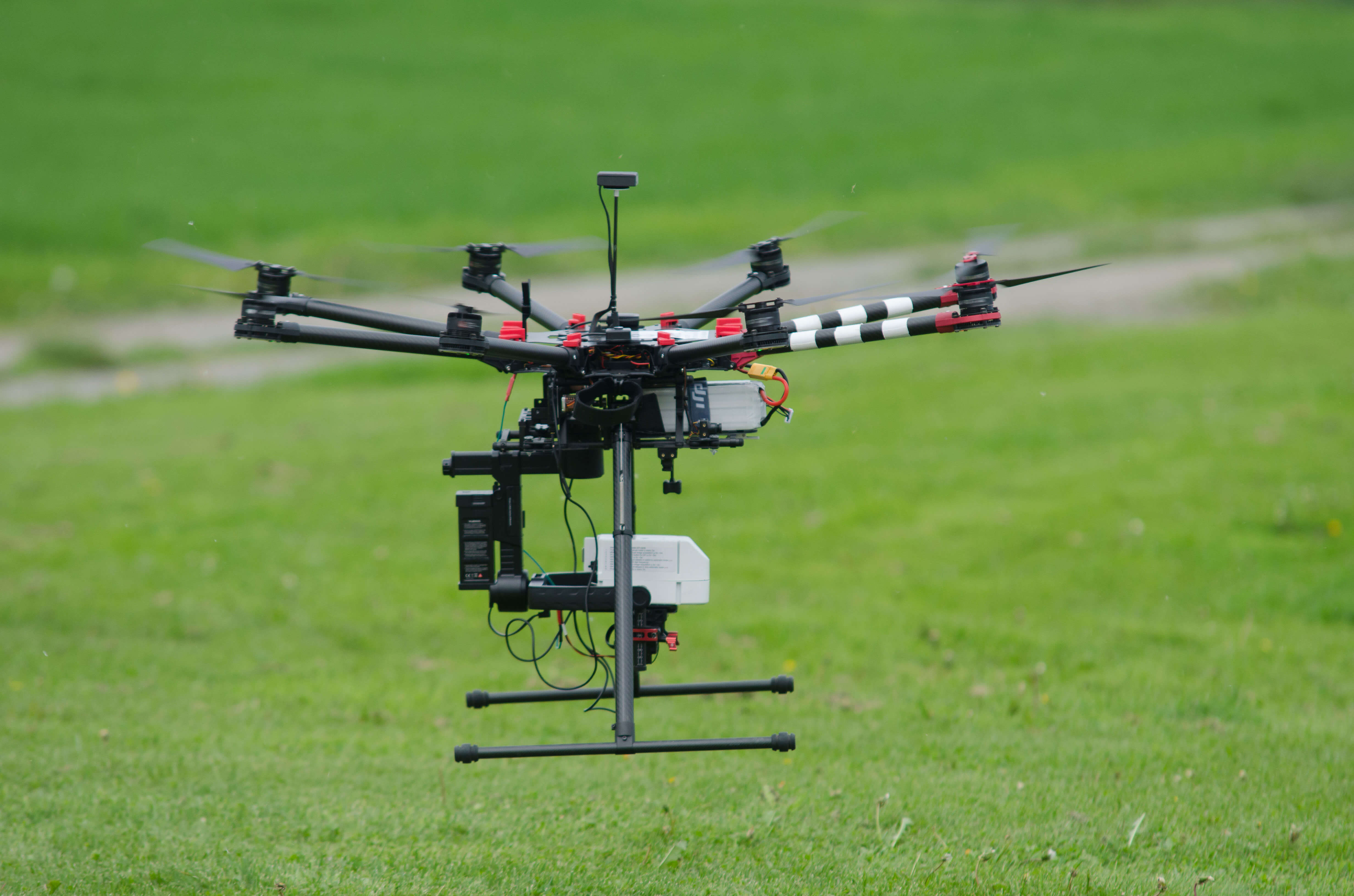UAV with hyperspectral sensor