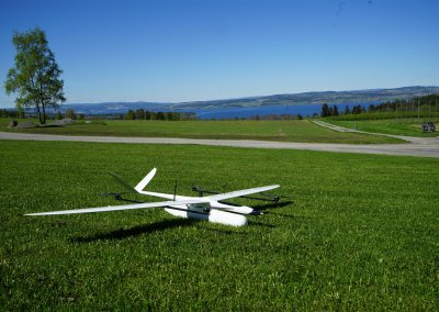 HUGINogMUNIN hybrid UAV for field scouting