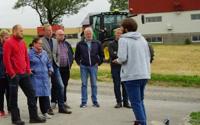 The Minister of Food and Agriculture visit to NIBIO Apelsvoll