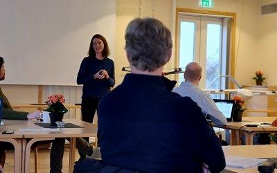 Workshop om jordbruksteknologi og automasjon hos NIBIO Apelsvoll